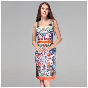 Dresses & Skirts - The KIYANI Silky Colorful Dress